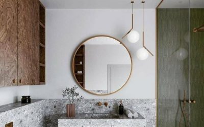 6 Simple & Clever Bathroom Design Ideas For Small Spaces