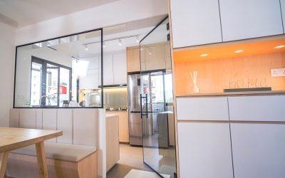 Simple, Gorgeous & Functional HDB Interior Design @ Bukit Batok
