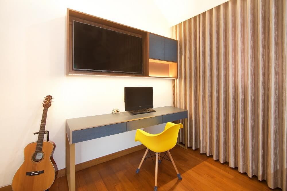 ArtDecor Design Studio Landed House Interior Design Singapore Bedroom Workstation, Design Authority