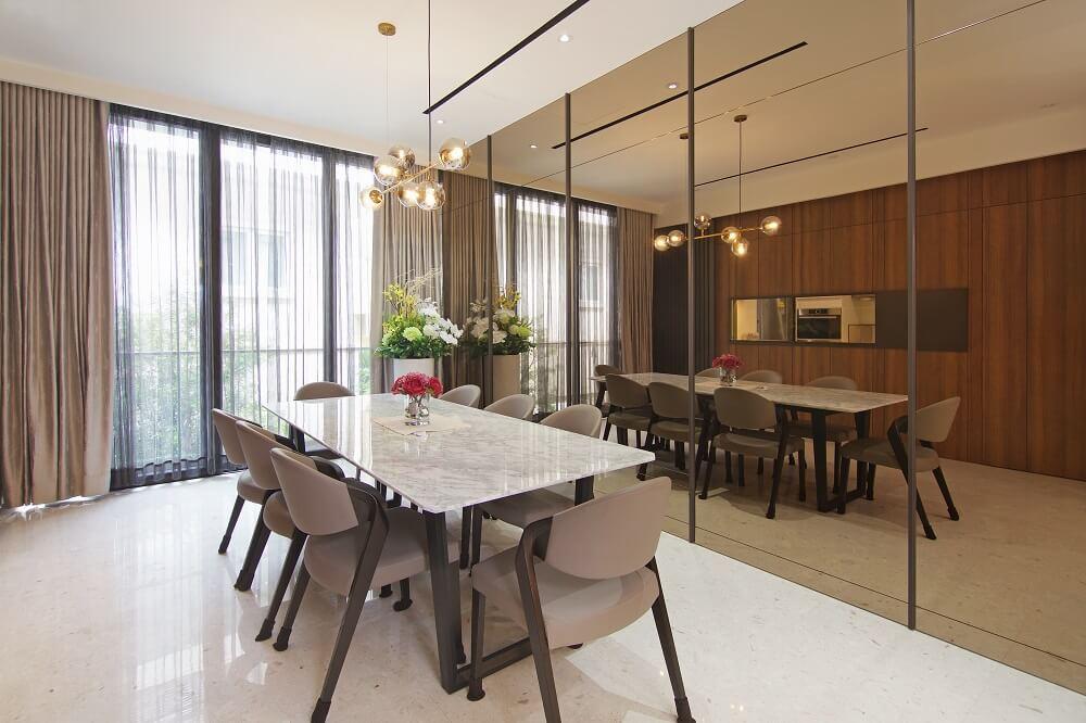 ArtDecor Design Studio Landed House Interior Design Singapore Dining Room 2, Design Authority