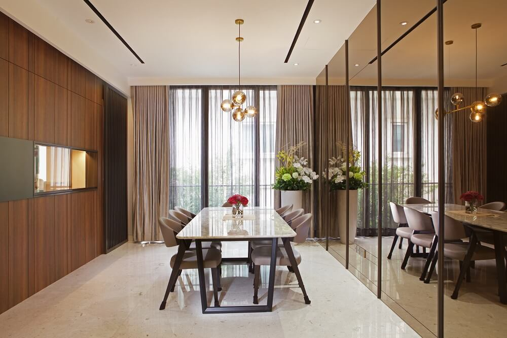 ArtDecor Design Studio Landed House Interior Design Singapore Dining Room, Design Authority