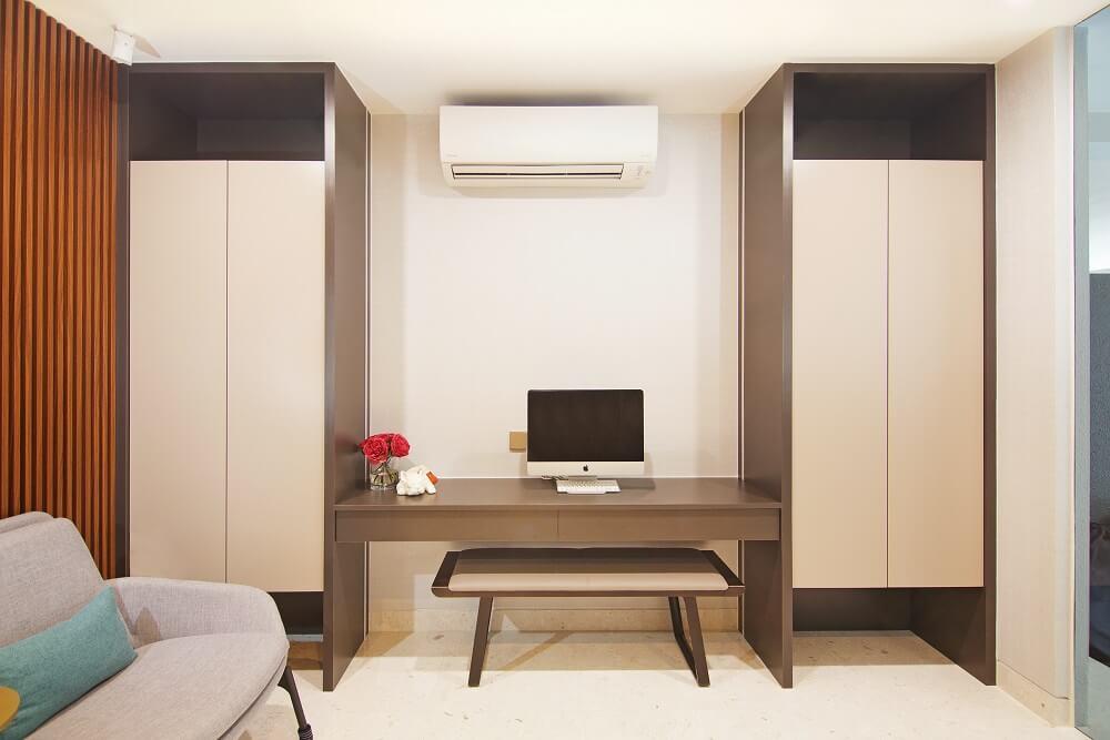 ArtDecor Design Studio Landed House Interior Design Singapore Workstation 2, Design Authority