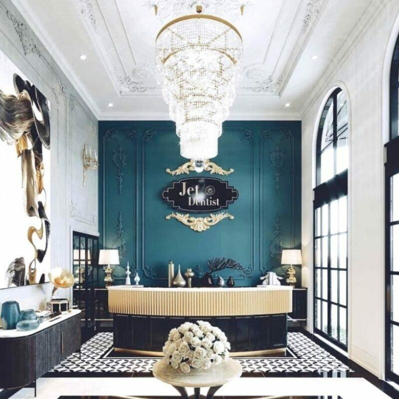 Jet Dentist Interior Design Foyer, Design Authority